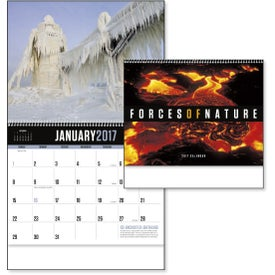 Promotional Forces of Nature Appointment Calendar