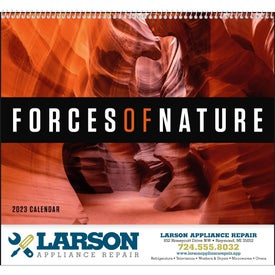 Forces of Nature Appointment Calendar (2014)