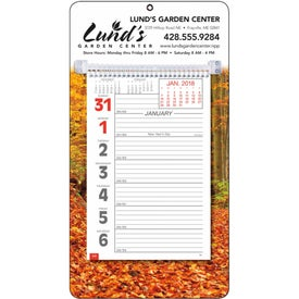 Company Full-Color Weekly Memo Calendar