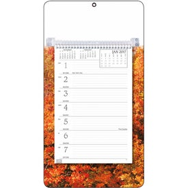 Full-Color Weekly Memo Calendars for Customization