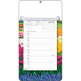 Full-Color Weekly Memo Calendars Branded with Your Logo