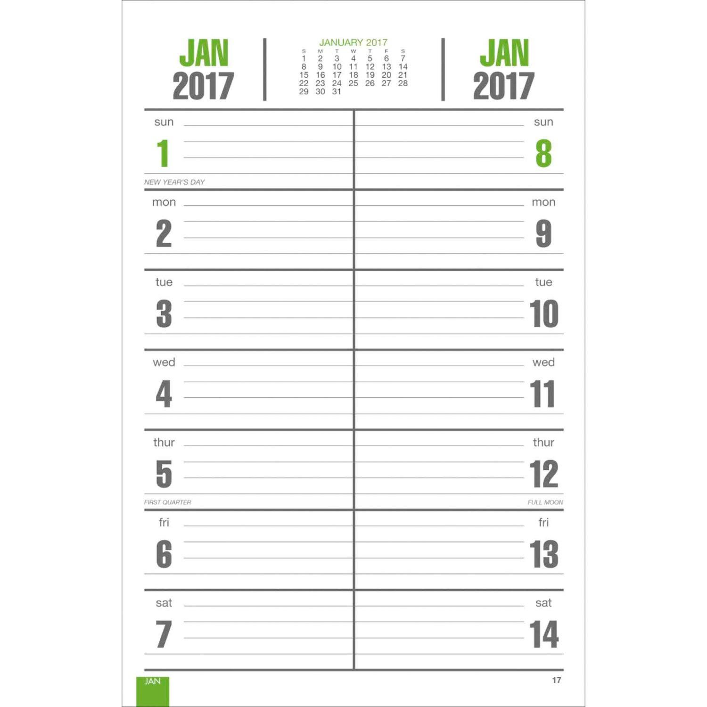 Full-Color Bi-Weekly Memo Calendar (2016)   Custom Calendars