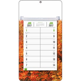 Customized Full-Color Bi-Weekly Memo Calendar