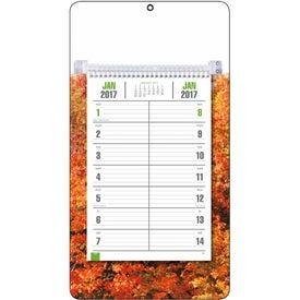 Customized Full-Color Bi-Weekly Memo Calendar