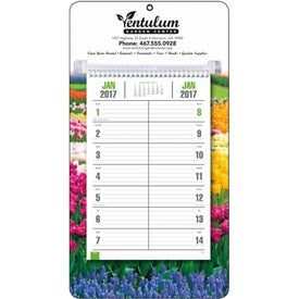 Personalized Full-Color Bi-Weekly Memo Calendar