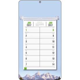 Full-Color Bi-Weekly Memo Calendar for Marketing