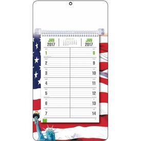 Custom Full-Color Bi-Weekly Memo Calendar
