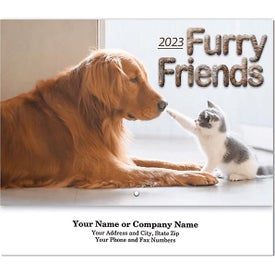 Furry Friends Stapled Wall Calendars (2022)