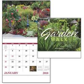 Promotional Garden Walk Spiral Calendar