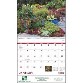 Garden Walk Spiral Calendar Giveaways