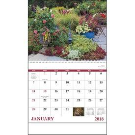Personalized Garden Walk Spiral Calendar