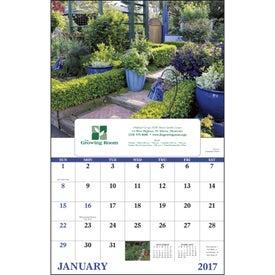 Garden Walk Window Calendar for Your Company