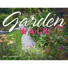 Garden Walk Window Calendar (2017)