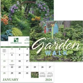 Branded Garden Walk Window Calendar