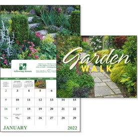 Garden Walk Window Calendar (2017)