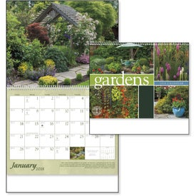 Gardens Appointment Calendar for Your Company