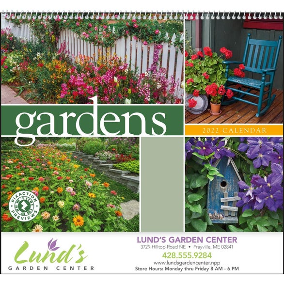 See Item Gardens Appointment Calendar