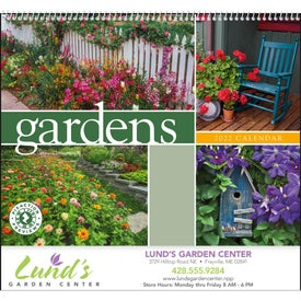 Gardens Appointment Calendar Giveaways