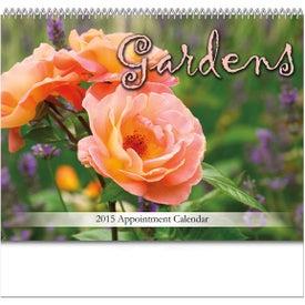 Personalized Gardens Spiral Bound Calendar