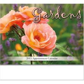 Branded Gardens Stapled Wall Calendar