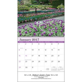 Gardens Wall Calendar for Your Church