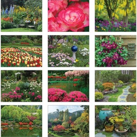 Gardens Wall Calendar Giveaways