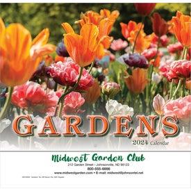 Gardens Wall Calendar (Stapled)