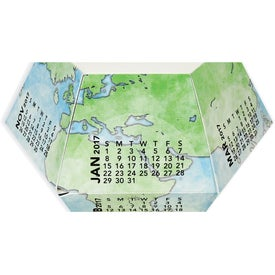 Branded Globe Pop-Ups 12 Month Calendar