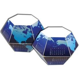 Company Globe Pop-Ups 12 Month Calendar