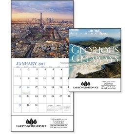 Customized Glorious Getaways Mini Calendar