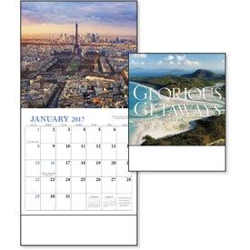 Glorious Getaways Mini Calendar Branded with Your Logo