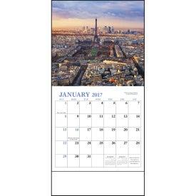 Glorious Getaways Mini Calendar Printed with Your Logo