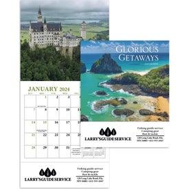Promotional Glorious Getaways Mini Calendar