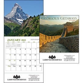 Glorious Getaways Mini Calendar (2019)