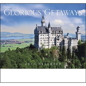 Glorious Getaways Stapled Calendar for Your Organization