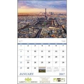 Glorious Getaways Stapled Calendar for Your Church