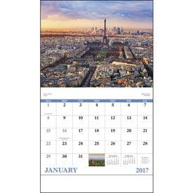 Glorious Getaways Stapled Calendar Giveaways