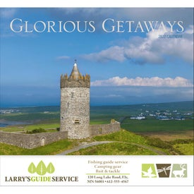 Glorious Getaways Stapled Calendar (2017)