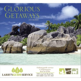 Glorious Getaways Stapled Calendar for Customization