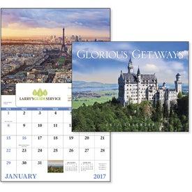 Glorious Getaways Window Calendar Branded with Your Logo