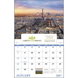Glorious Getaways Window Calendar for Marketing