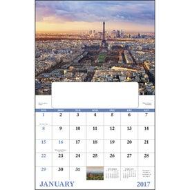 Glorious Getaways Window Calendar Imprinted with Your Logo