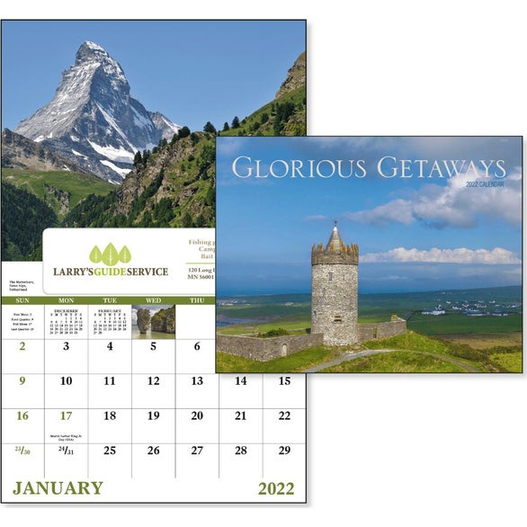Glorious Getaways Window Calendar