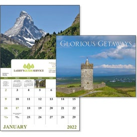 Glorious Getaways Window Calendar (2017)