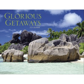 Branded Glorious Getaways Window Calendar
