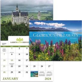 Branded Glorious Getaways Window Calendar