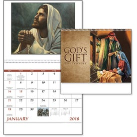 Advertising God's Gift Calendar with Funeral Form