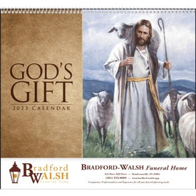 Company God's Gift Calendar with Funeral Form