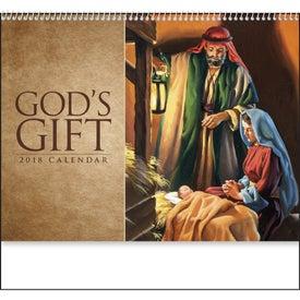 God's Gift Calendar - No Funeral Form for Marketing