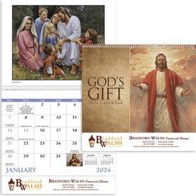 God's Gift Calendar - No Funeral Form (2017)